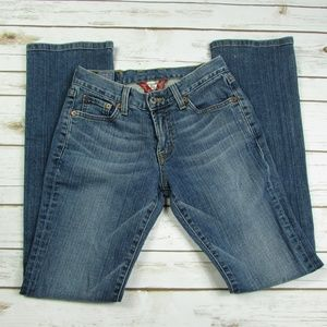 Lucky Brand Classic Rider Bootcut Blue Jeans 0 25